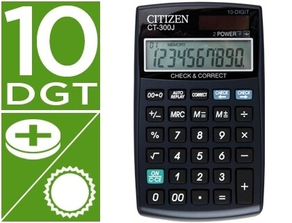 CALCULADORA DE BOLSO 10 DIGITOS - CITIZEN