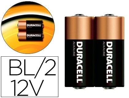 PILHA ALCALINA SECURITY 12V PACK 2 UN - DURACELL