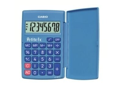 CALCULADORA DE BOLSO 8 DIGITOS AZUL - CASIO